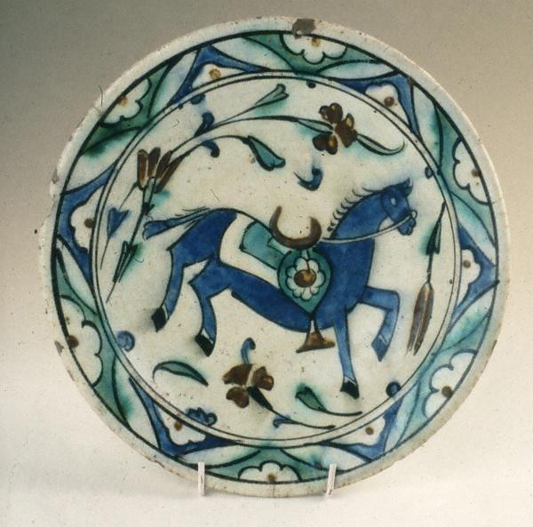İznik dish  17th century.