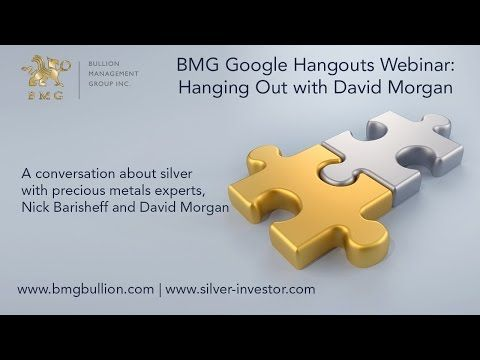 Hanging out with David Morgan and Nick Barisheff - YouTube