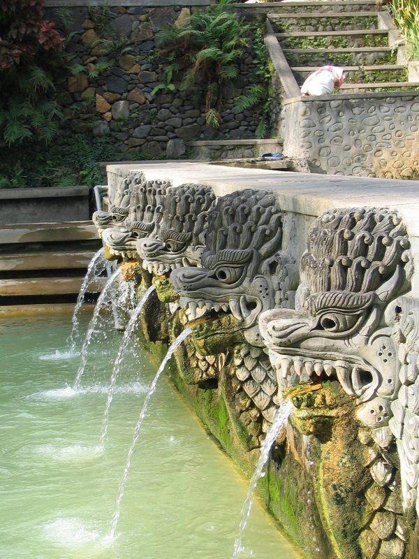 Air Panas Hot Springs - Bali