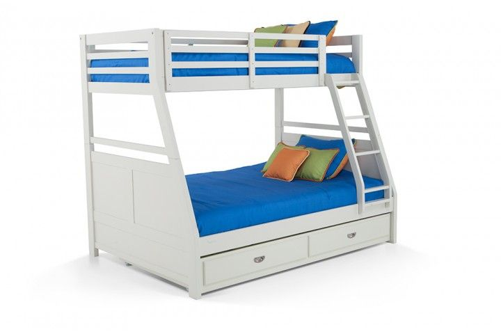 Chadwick Twin/Full Bunk Bed With Trundle Height 	69 Width	79 Depth	56.5