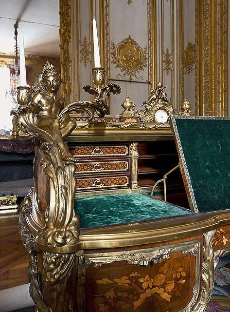 Versailles - Le bureau de Louis XV: