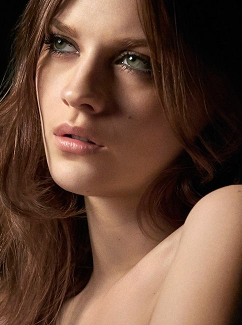 British model, actress and Burberry Cat Lashes campaign star Amber Anderson.