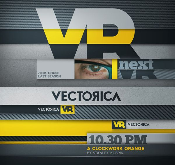 Layers II - Broadcast Channel Pack by Vectorica, via Behance