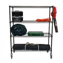 41 best Industrial Post Wire Shelving images on Pinterest | Wire ...