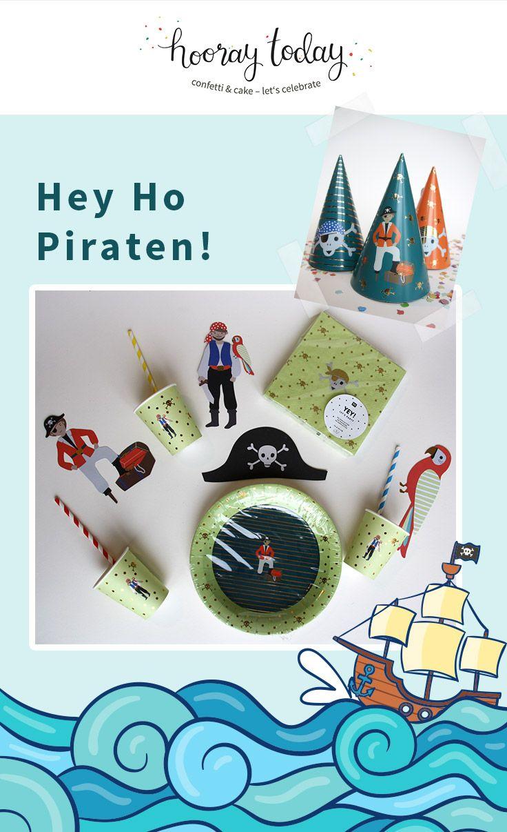 Hey Ho Piraten, Aye und Ahoi! Wir stellen euch heute dieses großartige Piraten-Partyset vor.  #kindergeburtstag #mottoparty #kinderfest #kidsparty #pirate #kidspartysupplies #lebenmitkindern #familienleben #partydecor #partydekoration #hooraytoday #confettiandcakeletscelebrate  P.S. Meldet euch doch gleich mal für unseren Newsletter an... nicht mehr lange und wir versorgen euch mit den neusten Trends, Freebies und vielem mehr...