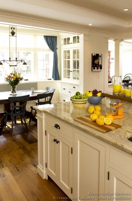 Pictures of Kitchens - Traditional - White Kitchen Cabinets.