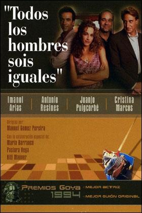 Todos los hombres sois iguales (1994) España. Dir: Manuel Gómez Pereira. Comedia. Feminismo - DVD CINE 918