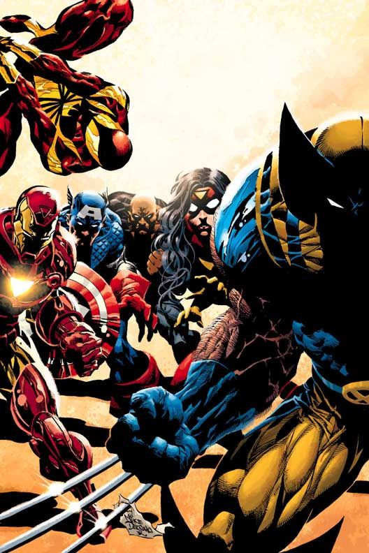 The New Avengers by Mike Deodato Jr.