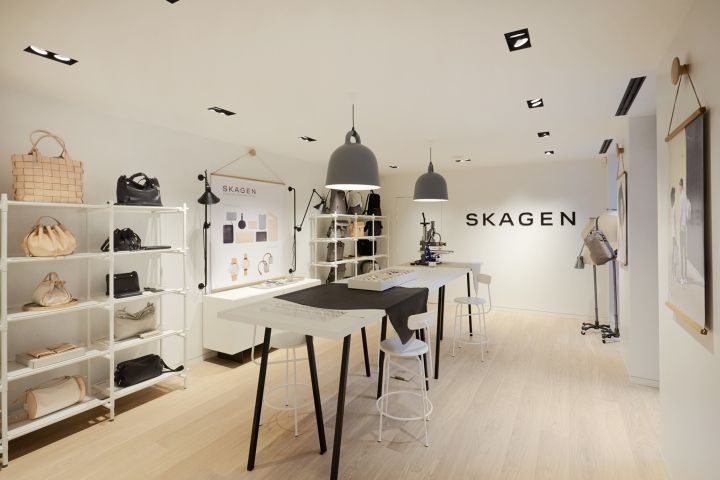 Skagen flagship store, Paris – France » Retail Design Blog