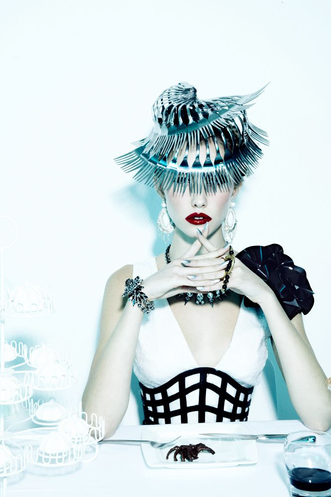   Sullivan, Wilhelmina, avant garde, future fashion, futuristic clothing ...