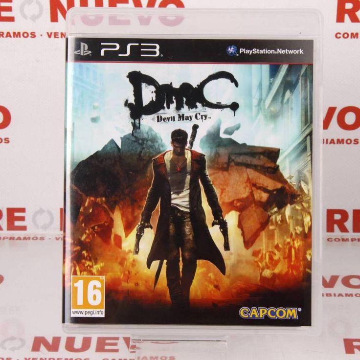 #DMC para #PS3 de segunda mano E272336   Tienda online de segunda mano en Barcelona Re-Nuevo #segundamano