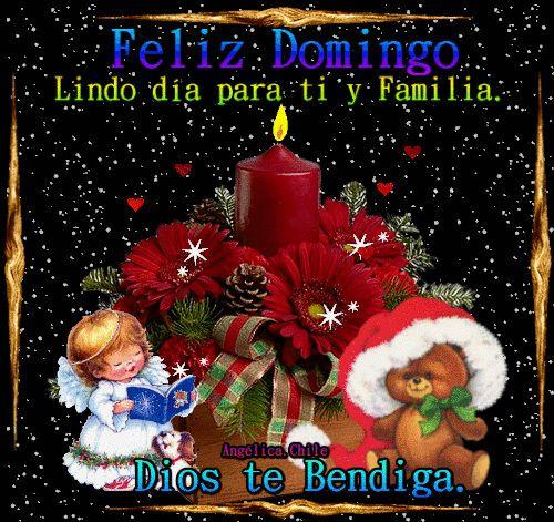 SUEÑOS DE AMOR Y MAGIA: Feliz Domingo bendiciones.