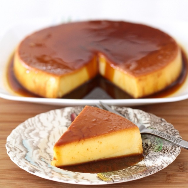 Flan! #recipes #dessert #flan.