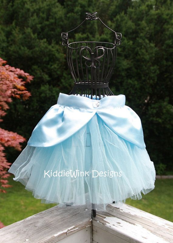 Cinderella inspired tutu costume by KiddieWinkDesigns on Etsy, $28.00
