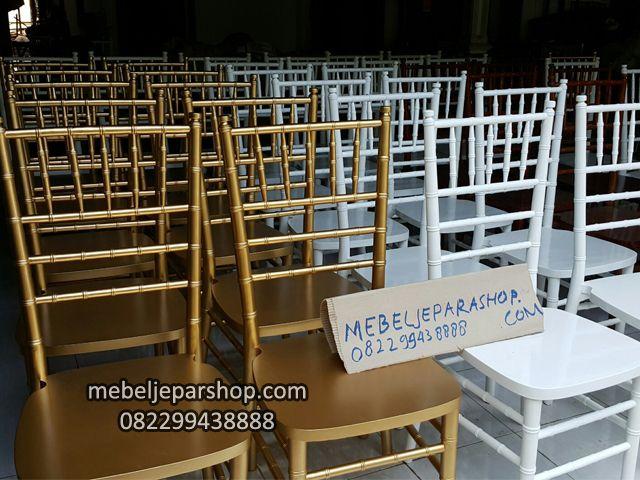 kursi wedding tiffany chair