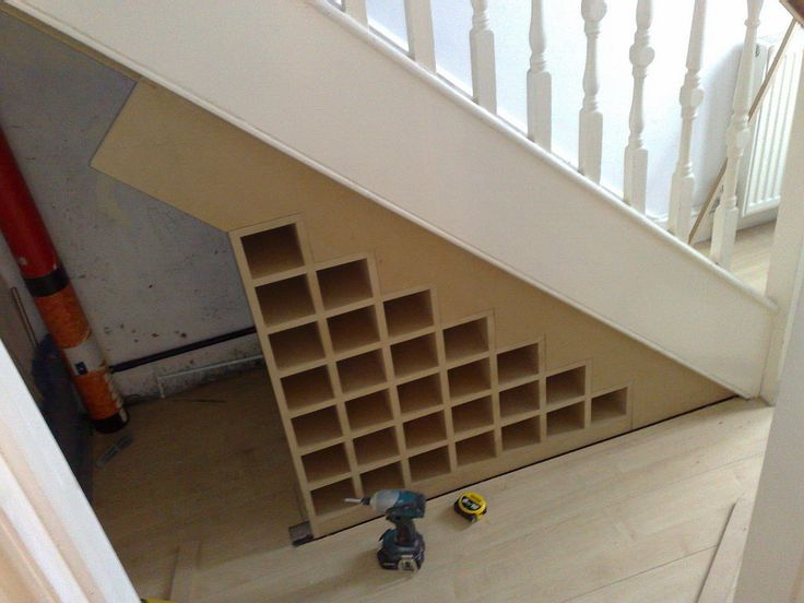 under the stairs wine rack - Google Search