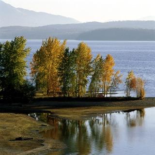Lake Pend Oreille & Cor d' lane in northern Idaho.