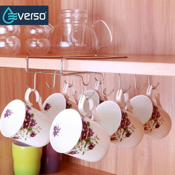 Mug Shelf Kitchen: Best 25+ Coffee Cup Storage Ideas On Pinterest