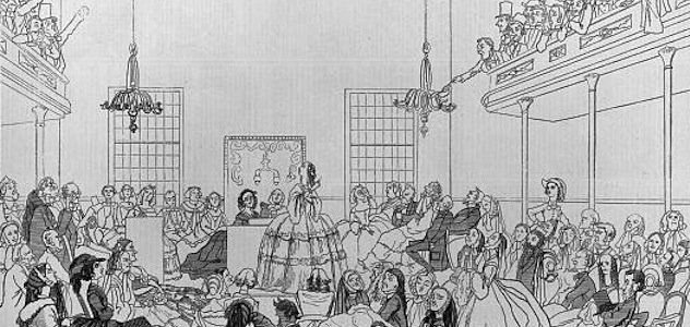 Seneca Falls Convention, beginning of the Women's Rights movement. Women's suffrage history.