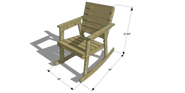 1000 ideas about rocking chair plans on pinterest. Black Bedroom Furniture Sets. Home Design Ideas