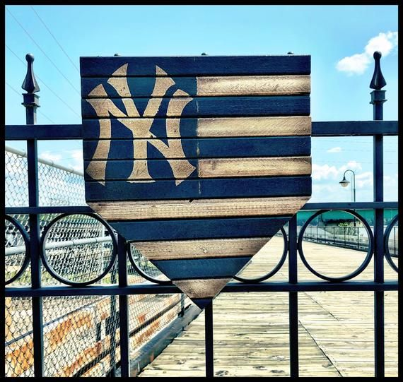 This Item Is Unavailable Picture On Wood Yankees Decor Wood Flag