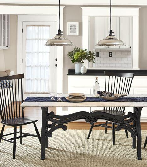 French Industrial Dining Room | Rejuvenation