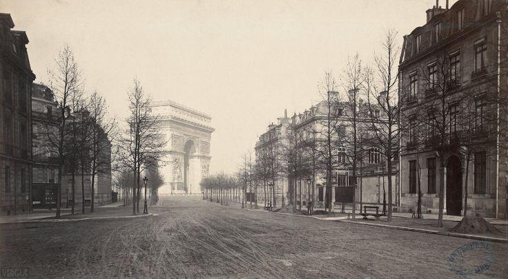 Haussmann's Paris, 1877   © Charles Marville