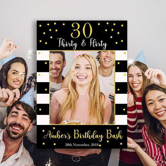 30th Birthday Selfie Frames 40th Selfie Frames Birthday Etsy 30th Birthday Sign 21st Birthday Pictures Birthday Photo Booths