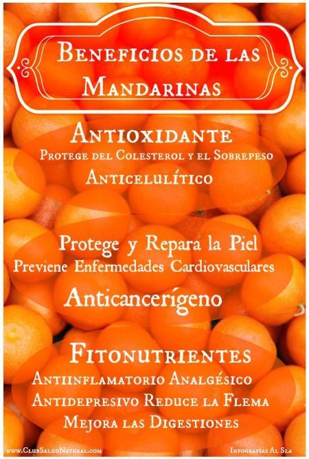#Propiedades de la #Mandarina - Club Salud Natural