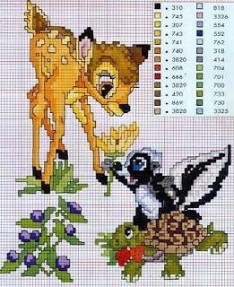 ENCANTOS EM PONTO CRUZ: Bambi