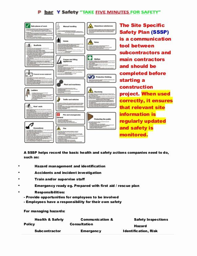 30 Site Safety Plan Template In 2020 How To Plan Templates