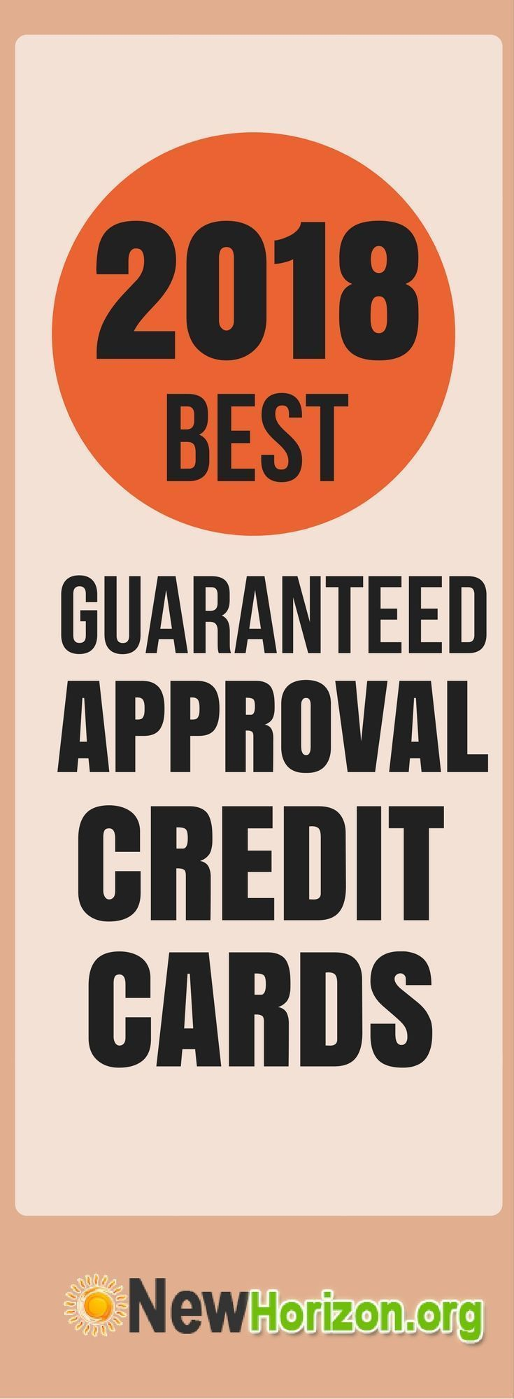 what credit cards guaranteed approval