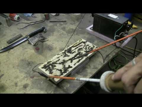 Make A Wood-Burning Transformer - YouTube