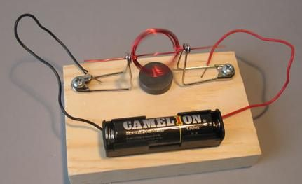 Making A Simple Electric Motor Is An Educational Activity That May Also Be Tried As School Project Or Science With This