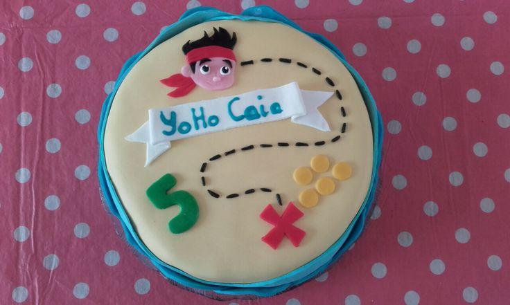Jake en de nooitgedacht piraten taart - by Tilia
