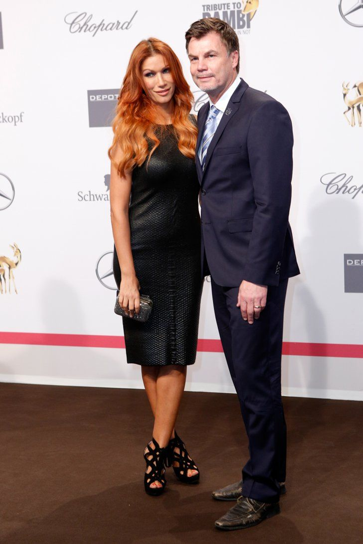 Pin for Later: Seht alle Stars bei der Tribute to Bambi Gala in Berlin Yasmina Filali und Thomas Helmer