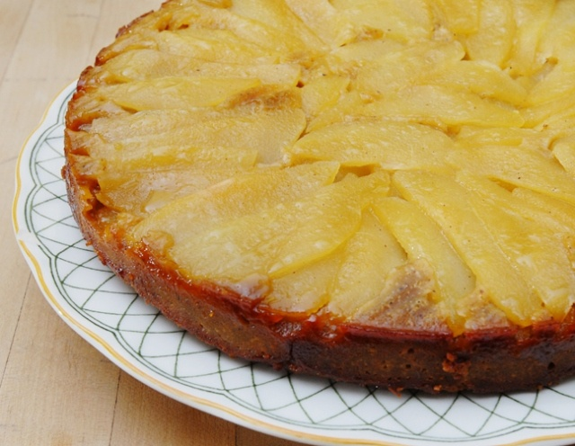 Pear Upside Down Cake | Rufus' Food And Spirits Guide Recipes | Pinte ...