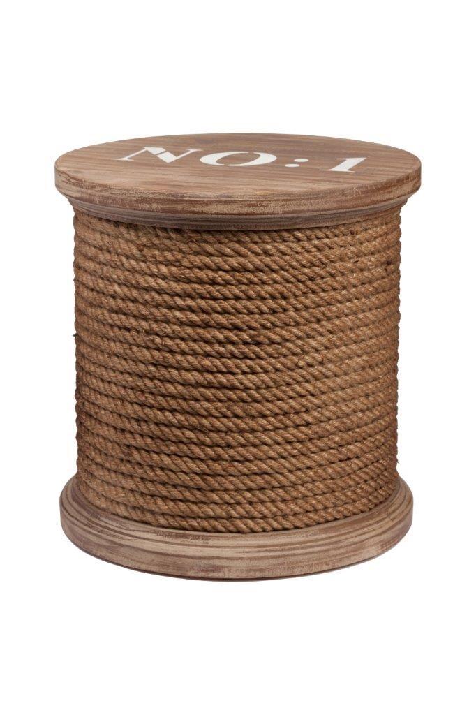 Столик-табурет Esteban изготовлен в виде деревянной (ель) катушки  с коричневыми нитками. На крышке, в духе старины, написан номер ниток. Покоряет дизайнерское решение относительно формы и цвета  столика - табурета, создан он конечно в стиле модерн, но может быть использован и в других стилях интерьера.             Метки: Журнальный стол, Круглый стол.              Материал: Ткань, Дерево.              Бренд: DG Home.              Стили: Лофт, Прованс и кантри.              Цвета: Белый…