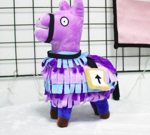 27cm Fortnite Llama Plush Toy Cute Llama Figure Stuffed Game Dolls