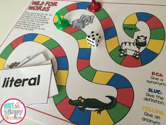 A fun vocabulary game that can be played with any list of words. The blog post has lots of great ideas for teaching meaningful vocabulary lessons.