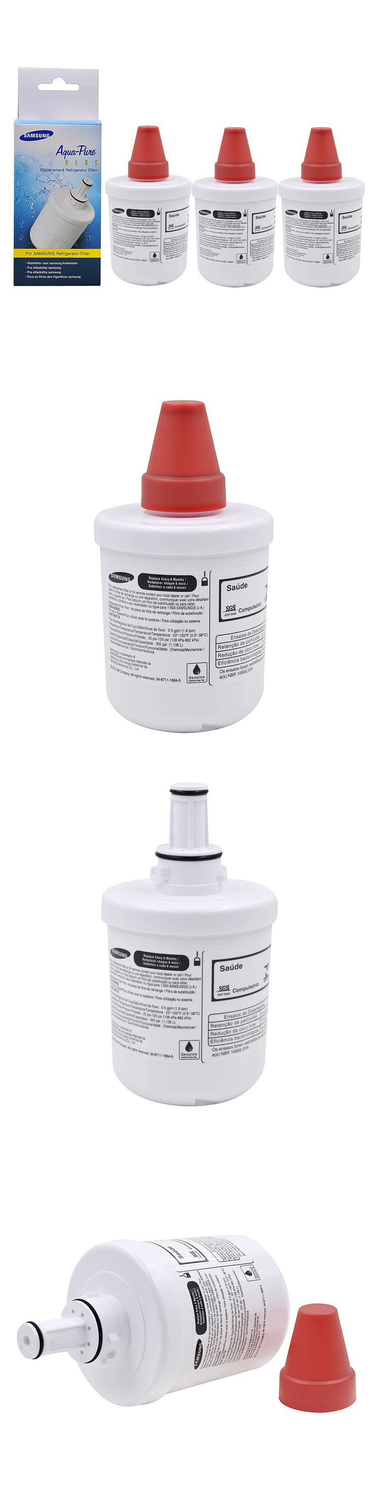 Water Filters 20684: 3 Pack Genuine Samsung Da29-00003G Aqua-Pure Plus Refrigerator Water Filter -> BUY IT NOW ONLY: $41.89 on eBay!