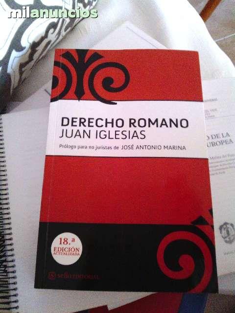 . libro de Derecho romano de Juan Iglesias edici�n 18.    totalmente nuevo, sin subrayar. Se vende por 22�. Especial para estudiantes de primero de derecho de la UAH.