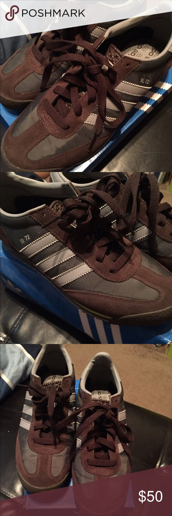 🍃🍀🌿PRELOVED❤️WOMENS ADIDAS CONCORD ROUND 7.5 PREOWNED ADIDAS ORIGINALS CONCORD ROUND IN SIZE 7.5 USED ONCE ONLY Adidas Shoes Athletic Shoes