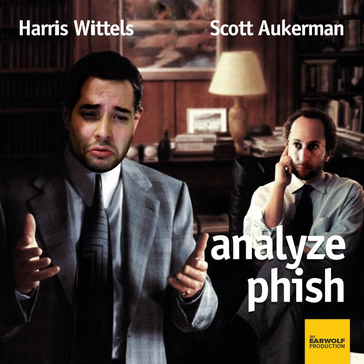 Harris and Scott are comedians, music lovers, and friends. Where do they differ? Harris loves Phish, and Scott does not. On Analyze Phish, Harris navigates the vast landscape of Phish's catalogue to find entry points for Scott while trying to explain the live Phish experience without the use of illegal substances.