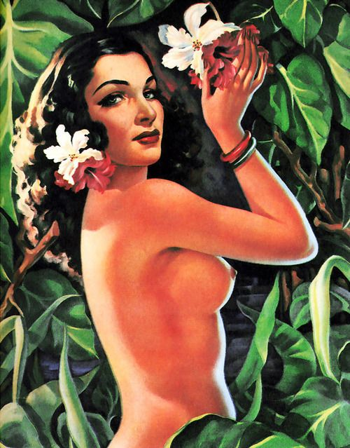 nude mexican girl pin up