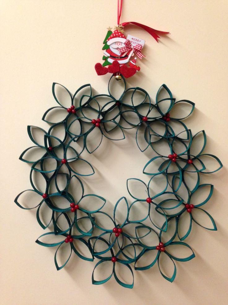 Oltre 25 fantastiche idee su rotoli di carta igienica su for Ghirlande natalizie di carta