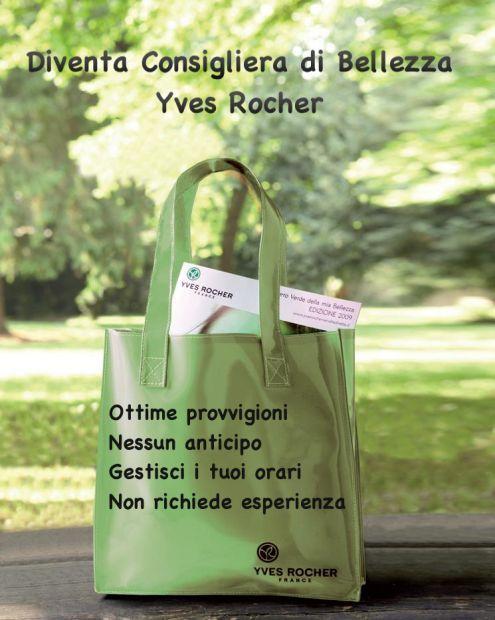 Venditrice da catalogo Yves Rocher Italia Per Info contattami: email: flaviavisone@gmail.com #lavoro #lavoroyvesrocher