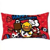 Long Pillow Cases, Cute Baby Duck, Happy Halloween Cartoon , Body Pillow Polyester Cases in 40 * 70 CM- Only Case