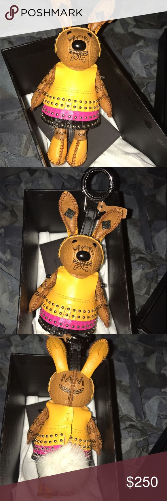 Brand New MCM Disco Bunny bag charm Brand New unused Authentic MCM Disco Bunny bag charm with original tags and dust cloth in MCM box MCM Other