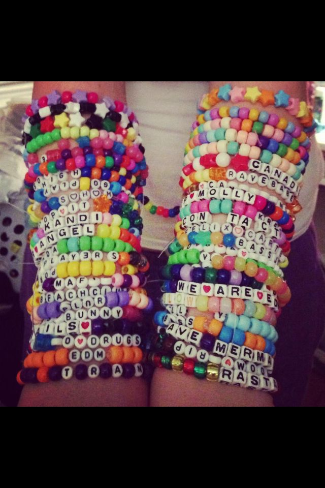 Kandi For Dayyyys Kandi Rave Plur Molly Bracelets Colourful